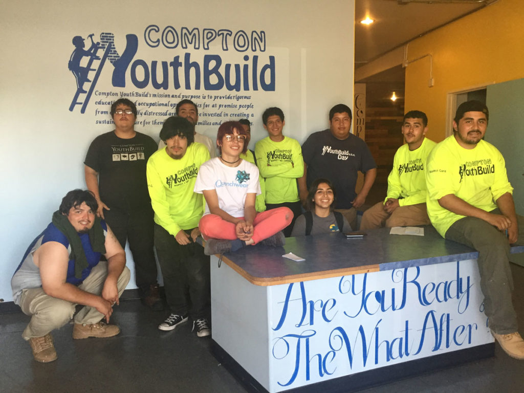Compton Youthbuild Says Goodbye to 477 Compton Blvd.